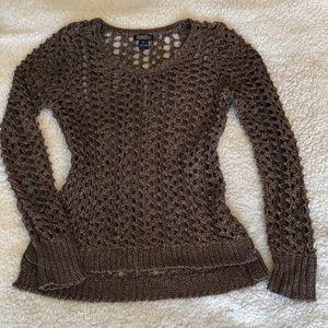 Lucky Brand Open Knit Sweater. Size Medium.